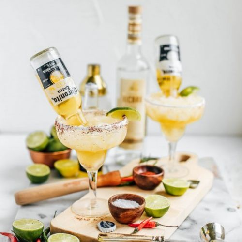 Lime and Chili Mezcal Beergaritas