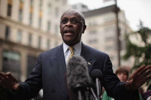 Former presidential candidate Herman Cain is receiving treatment for coronavirus at Atlanta hospital