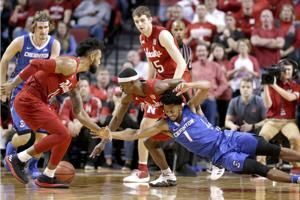 No. 24 Nebraska beats Creighton 94-75, ends skid in series