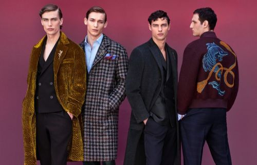 Christopher Einla, Hannes Gobeyn + More Front Pal Zileri Fall '19 Campaign