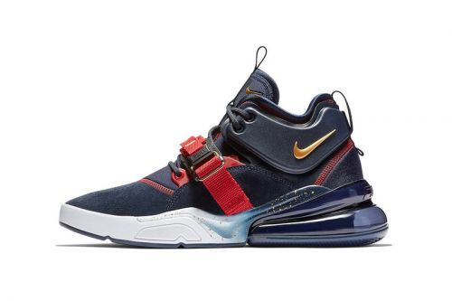 """Nike Air Force 270 Goes for Gold with """"Dream Team"""" Colorway"""