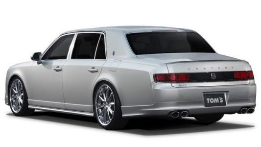 Japanese Tuner TOM'S Has Built A Tuned Toyota Century