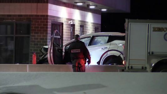 Beaver County woman killed when vehicle crashes into building near toll booths