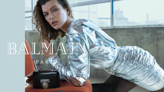 Balmain's Stark Fall 2018 Campaign Trades 'The Matrix' Inspiration for 'The Fifth Element'