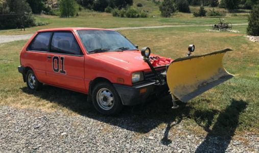 For $2,950, Would This 1988 Subaru Just 4X4 Plow Have You Laughing At The Snow?