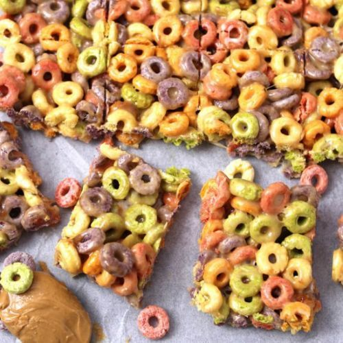 No Bake Cereal Bars
