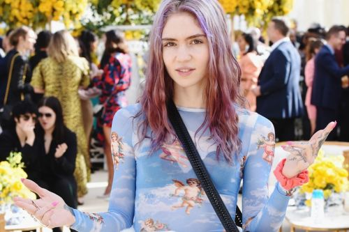 """Grimes Shares New Single """"Love"""" After Split With Elon Musk"""