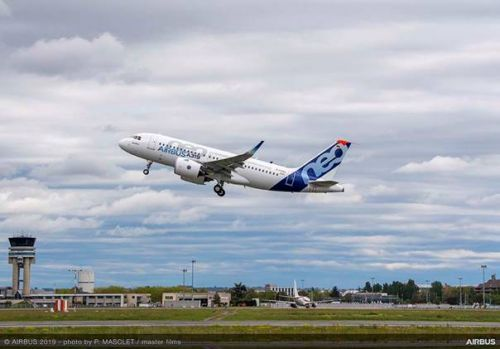 PW powered A319neo makes maiden flight