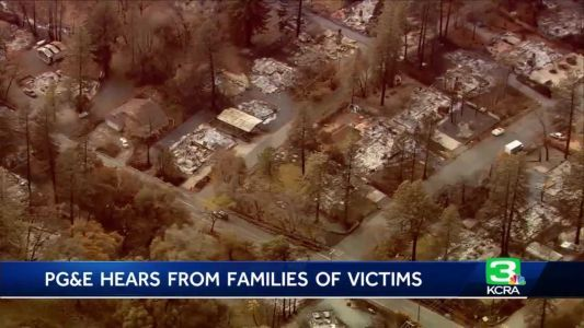 PG&E wildfire victims sue former management for neglect