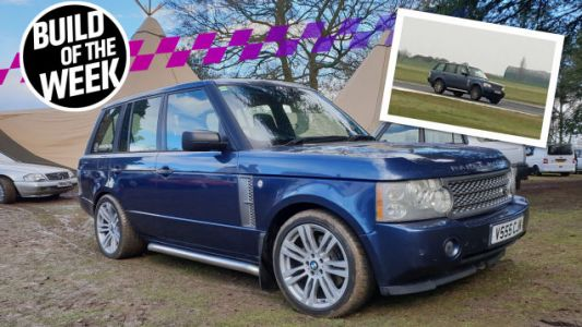 Drunkenly Playing Gran Turismo Inspired This Real-Life Range Rover Race Car