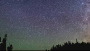 An impressive meteor shower on display this weekend