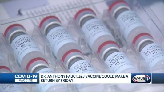 Johnson & Johnson vaccine could make a return by Friday, Dr. Fauci says