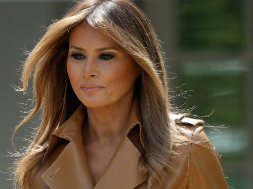 The Latest: Melania Trump says US should govern 'with heart'
