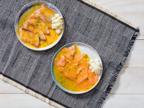 Peruvian Tiradito With Aji Amarillo and Lime