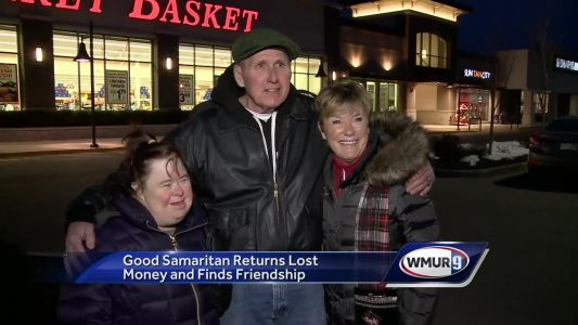 Good Samaritan returns lost money, finds new friends