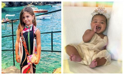 So Cute! Penelope Disick Plays Photographer With Baby True