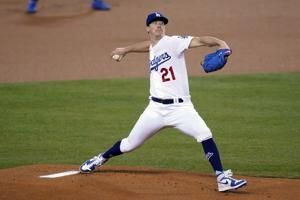 Buehler looks playoff ready, Dodgers beat A's 5-1
