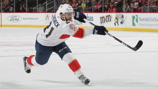 Vincent Trocheck injury update: Panthers center practices, nears return