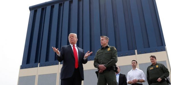 Trump heads to the US-Mexico border to argue for his wall, despite reportedly admitting it's just a photo op that won't change 'a damn thing'