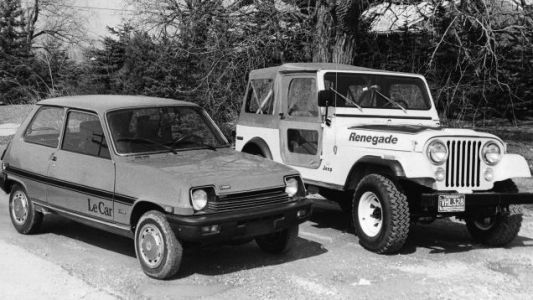 Here's a reminder that 40 years ago, Renault partnered with American Motors for joint distribution