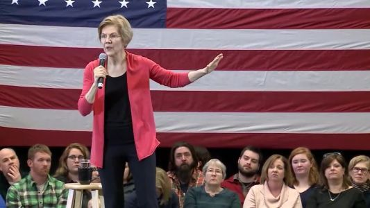 Elizabeth Warren holds first campaign event in NH