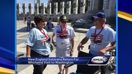 New England veterans return after trip to Washington, D.C