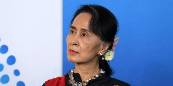Canada's parliament unanimously voted to strip Myanmar's leader of her honorary citizenship