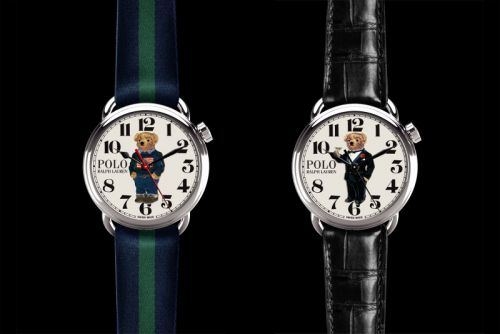 Ralph Lauren Launches the Polo Bear Watch Collection