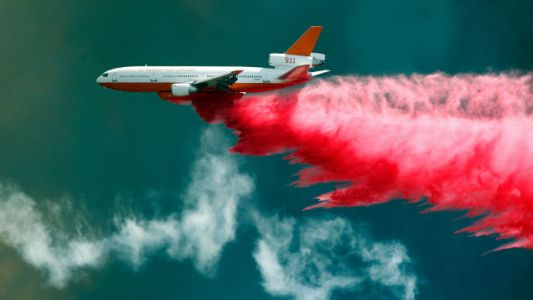Blanketing California in Fire Retardant Is Potentially Very Harmful