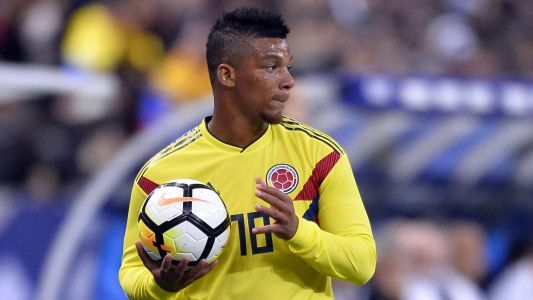 Colombia's Fabra out of World Cup after ACL rupture