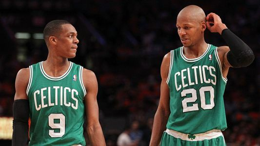 Rajon Rondo will now invite Ray Allen to Celtics' 10-year title celebration