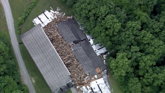9,000 barrels of bourbon crash to ground after collapse at Kentucky distillery