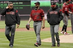 Diamondbacks lose another starter as Ray goes on 10-day DL
