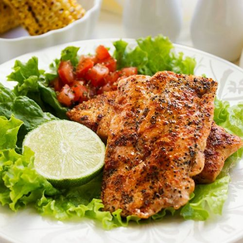 Grilled Spicy Salmon