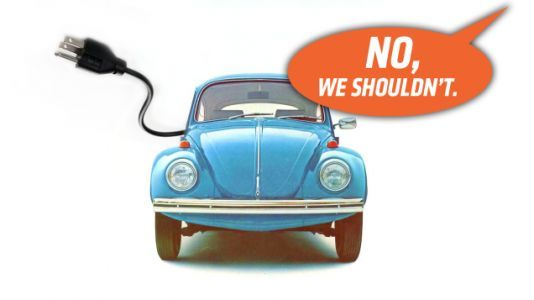 Volkswagen Says It Has No Plans for an Electric Beetle Which Means It Is Either Lying or Being Foolish