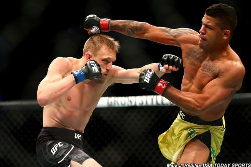 Talking big is not Gilbert Burns' style, but hopefully taking fights - and finishing them- will do