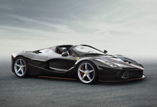 The Auction of La Ferrari Aperta Number 210