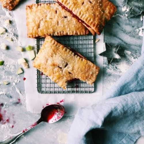 Rustic Cranberry-Apple Handpies