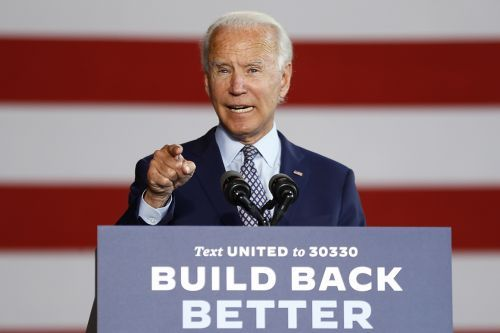 Biden lashes Trump in economic speech tinged with populist rhetoric