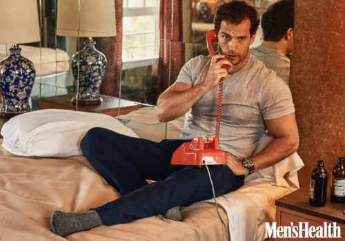 Henry Cavill Covers Men's Health, Dishes on 'The Witcher'