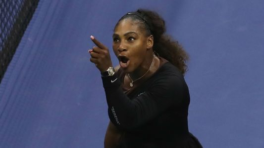 """Stephen Curry: Serena Williams acted with """"grace and class"""" in U.S. Open final"""