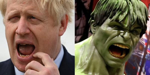 Boris Johnson called 'Trumpian' and 'infantile' by EU figures after he compares Brexit to the Hulk smashing out of his chains