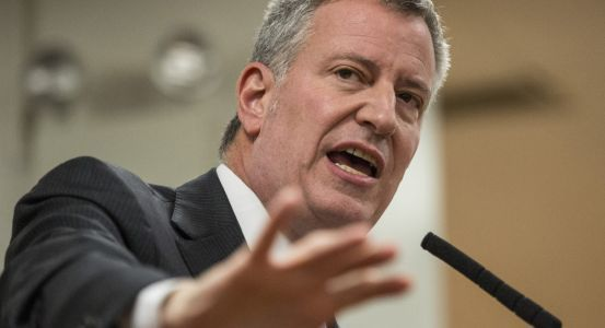 De Blasio: Presidential run could be boon for NYC