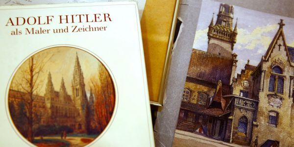 No one wanted to buy Hitler's paintings at an auction held in Germany amid public outrage and accusations of forgery