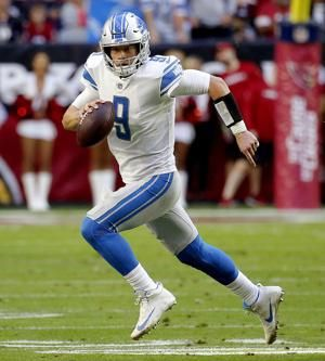 Lions QB Matthew Stafford questionable to play against Bills