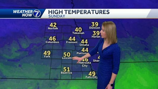 Above average temperatures to start the week