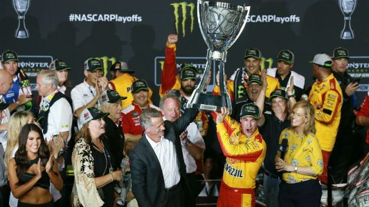 NASCAR results at Homestead: Joey Logano wins race, claims first series championship