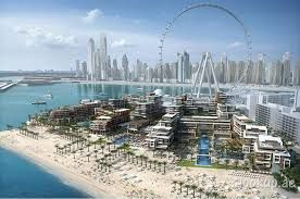 Bluewaters Island in Dubai will get another luxury hotel by Las Vegas Brand