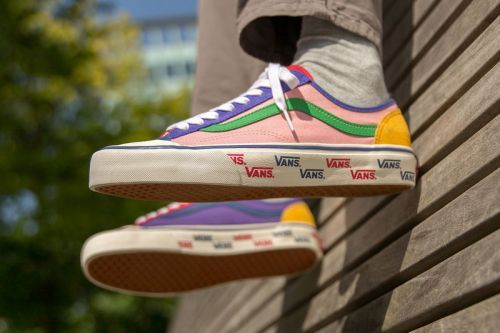 """Size? Upgrades Vans Style 36 With """"Patchwork"""""""
