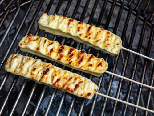Grilled Brazilian Cheese Skewers